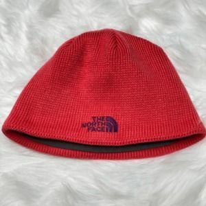 The North Face Pink Knit Winter Hat Beanie